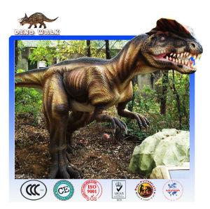 نموذج بالحجم الطبيعي dilophosaurus