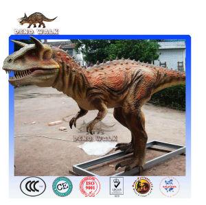 Animatronic Carnotaurus Model
