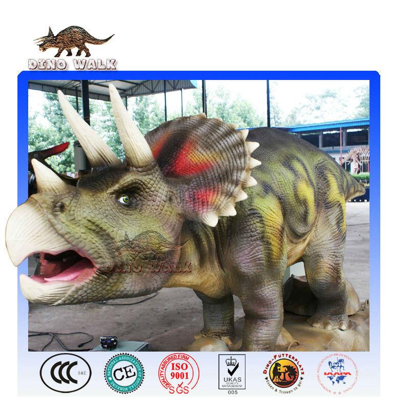 الديناصورات المحاكاة في متنزه