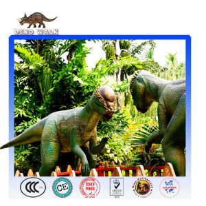 محاكاة نموذج ديناصور متحرك pachycephalosaur