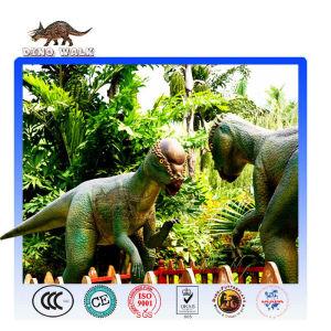 Simulation Animatronic Dinosaur Model Pachycephalosaur