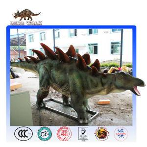 Lifelike Animatronic Stegosaurus Model