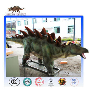 Lifelike Animatronic Stegosaurus Model
