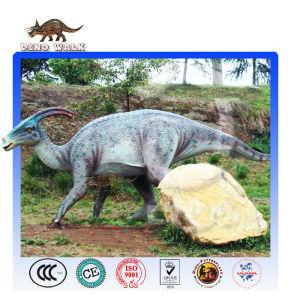 Simulation Mechanical Dinosaur of Parasaurolophus