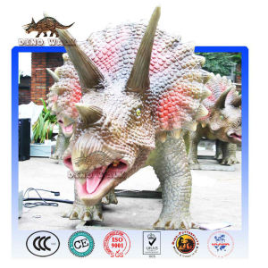 Amusement Park Eqipment of Triceratops Model