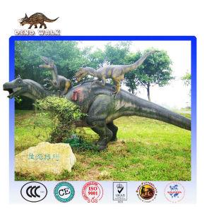 نموذج ديناصور حية شمعي القتال