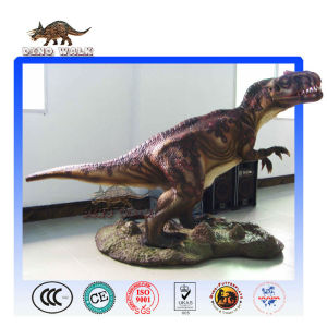 Life Size Animatronic Allosaurus in Showroom