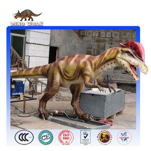 Pneumatic Dinosaur Robot