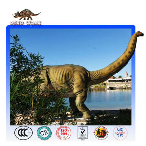 Animatronic Brontosaurus Model