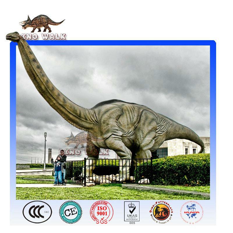 ديناصور متحرك ضخمة المناظر الطبيعية