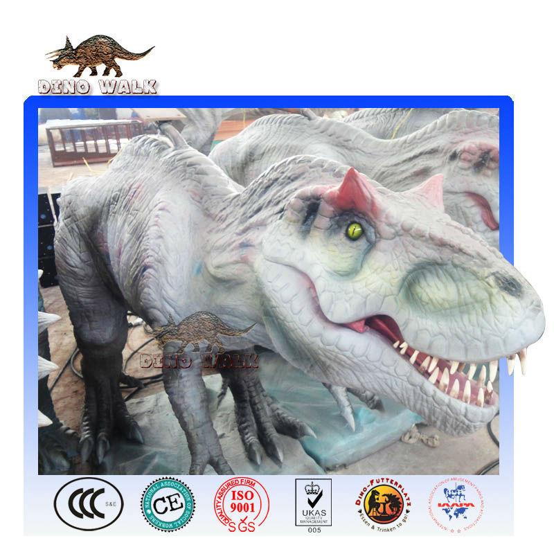T-rex realista animatronic robot