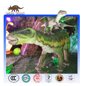 Animatronic Dinosaur Battle