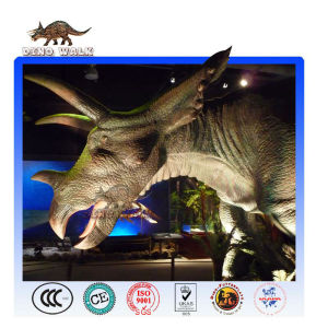 Science Museum Animatronic Triceratops Exhibits
