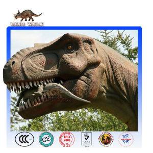 Lifelike Mechanical Animatronic Tyrannosaurus Model