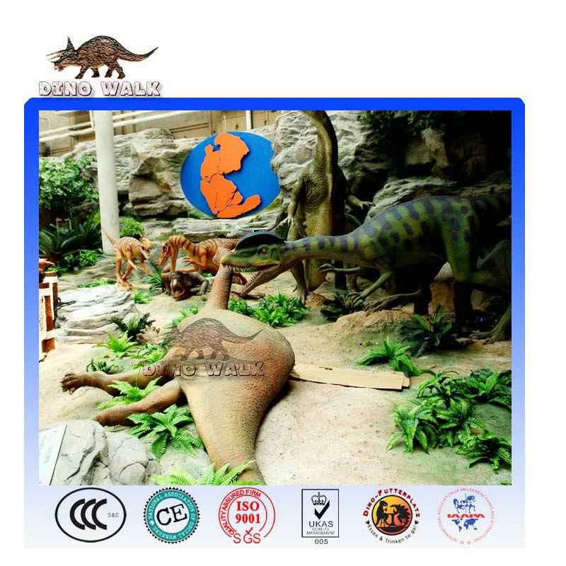 Dinosaur Alive Exhibits