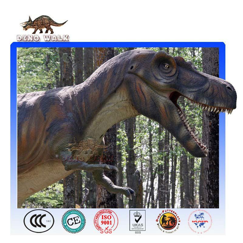 tirannosauro rex testa robotica modello