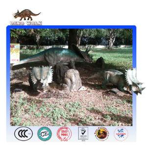 Animatronic Chasmosaurus Model
