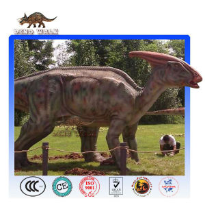 Animatronic Parasaurolophus Model
