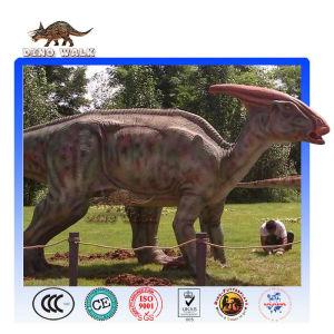 Animatronic Parasaurolophus Model