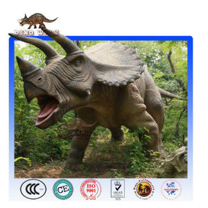 Life Size Triceratops Model