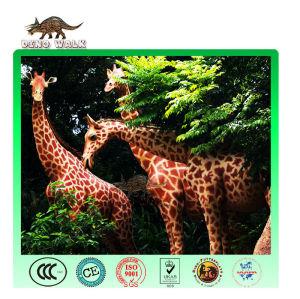 الزرافة حيوان متحركالنحت الأفريقية