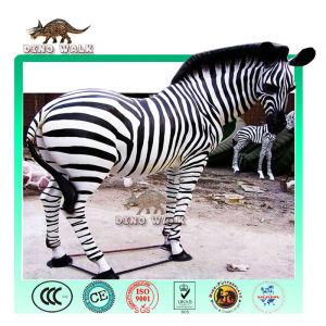 African Animatronic Zebra Model