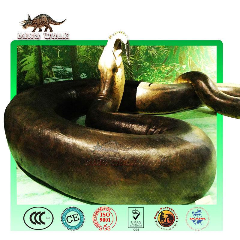 حيوان متحرك titanoboa متحف