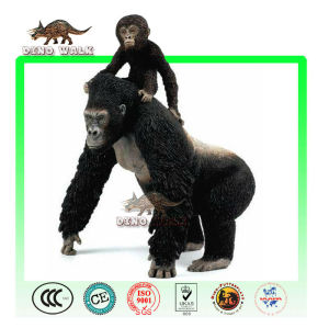 Animatronic orang-utan tier und lebensechte baby
