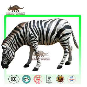 Animatronic Animal Zebra Model