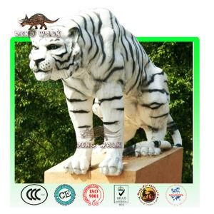 Outdoor animatronic animal tiger model