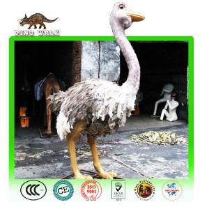 Animatronic Ostrich Model