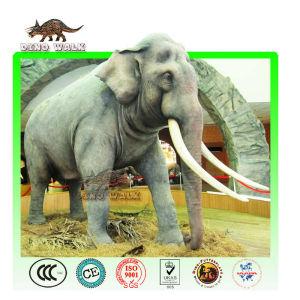 Playground Animatronic animal of Mammoth