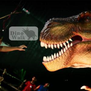 الحياة حجم ديناصور متحرك