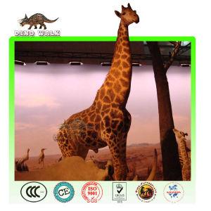 Life Size Animatronic Giraffe