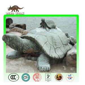 Fiberglass Turtle Sculpture