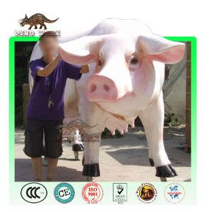 Fiberglass Farm Animal Sculpture