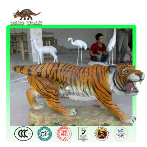 Fiberglass Tiger Sculpture