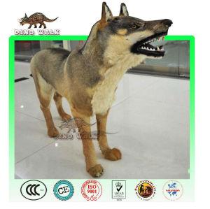الذئب متحركالنحت لمراكز التسوق