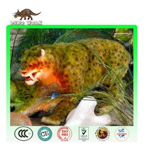 Eiszeit animatronic säbel- zahn tiger