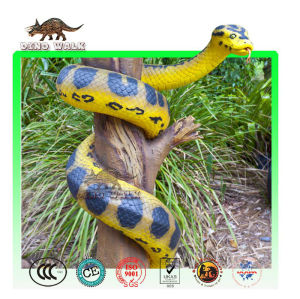 Life Size Fiberglass Snake Replica