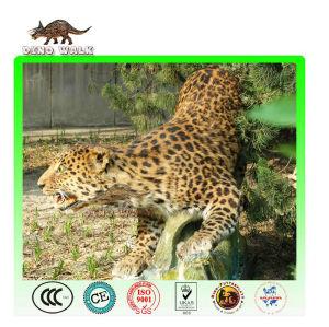 Vivid Animatronic Leopard Model