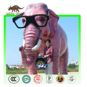 Customized Fiberglass Cartoon Elephant