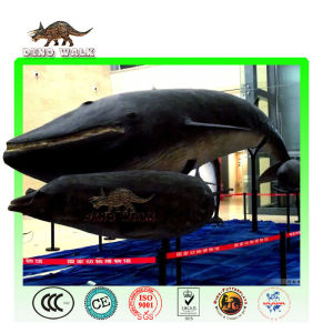 Life Size Animatronic Whale in Museum