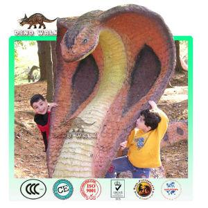 Fiberglass Cobra Sculpture