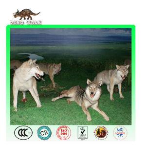 Life Size Animatronic Wolf