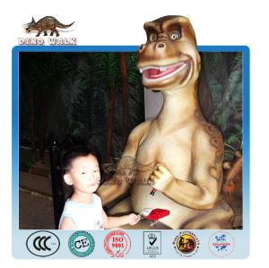 Stamping Cartoon Animatronic Dinosaur Model