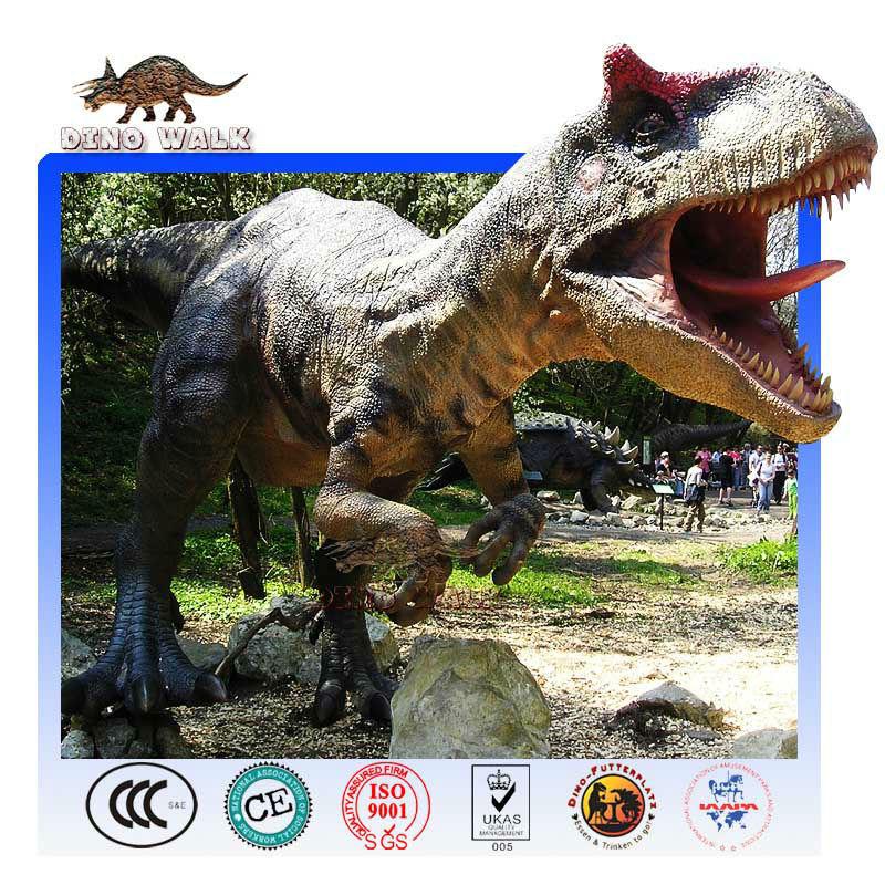 Custom Fiberglass Allosaurus Model