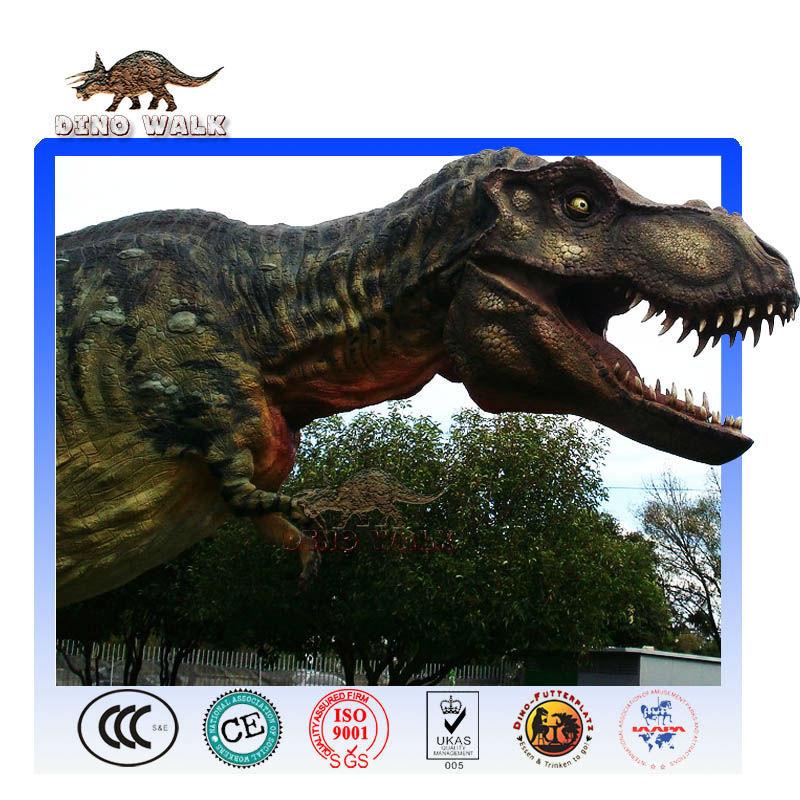 Custom Fiberglass Dinosaur Head