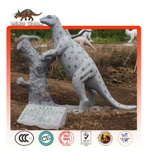 Dinosaur Statue as Street landscape
