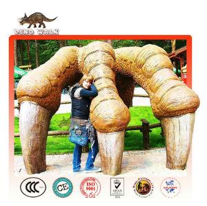 Huge Animal Claws of Dinopark Landscape